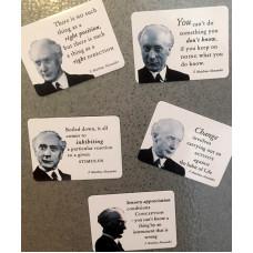 5 Alexander Aphorisms Fridge Magnets